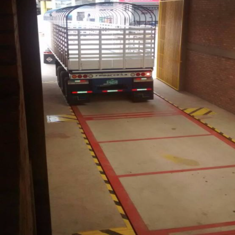 Báscula Camionera en concreto bbg CR