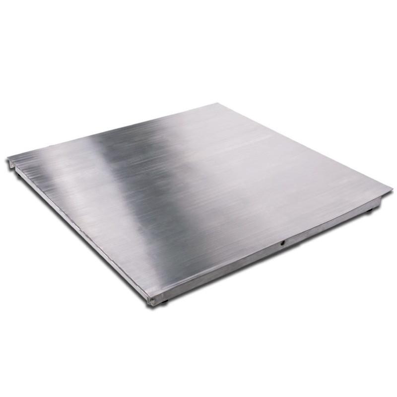 Plataforma de piso bajo perfil en acero inoxidable BP-INOX