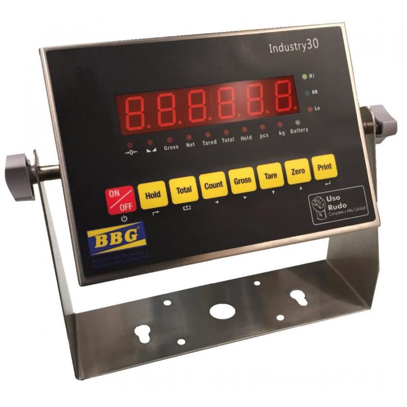 Indicador industrial en acero inox-INDUSTRY-30-BBG